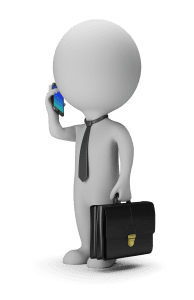 3D Small People Businessman With Phone 194x300 - 3D Small People - Businessman With Phone