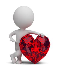 3d small people ruby heart 1 245x300 - 3d small people - ruby heart